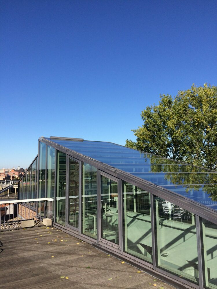 Klein Willebroek : kantoorgebouw uitgerust met Thermobel Stopray Vision-50 gelaagd, Klein Willebroek - .