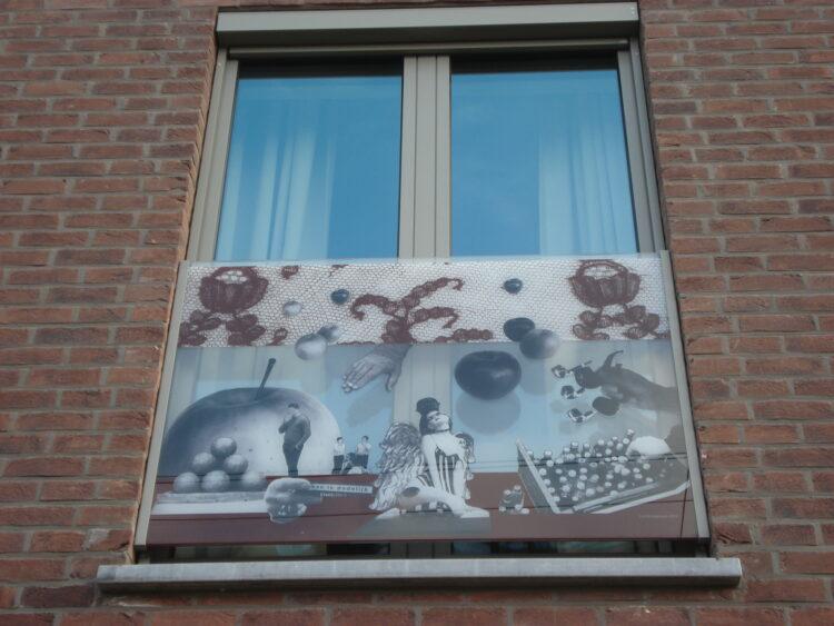"""Kunstwerk """"Kortrijk-kant"""" in Artlite Digital krijgt een internationale onderscheiding in New York, Kortrijk - Lut de Vogelaere"""