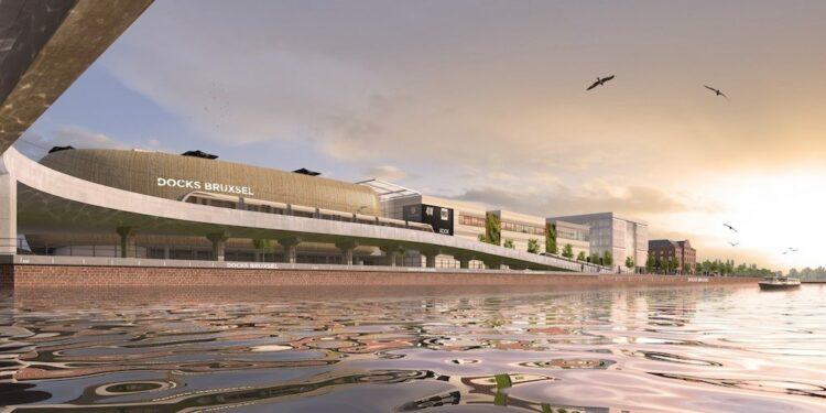 Winkelcentrum Docks te Brussel met ipasol 70/37 & iplus EnergyN on Clearlite, Brussel - a2rc